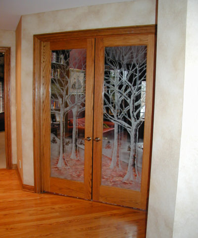 Interior Doors Sheri Law Art Glass