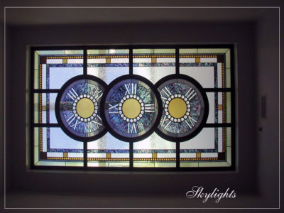 Custom Art Glass Stained Glass Skylights | Sheri Law Art Glass Homer Glen, IL