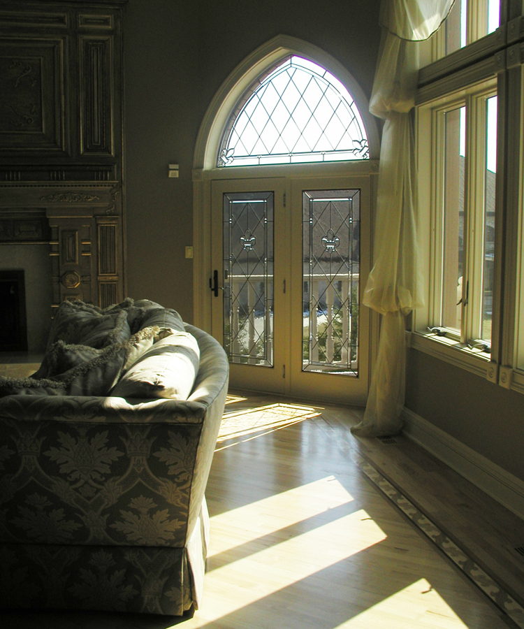 Sheri Law Beveled Gothic Arch Leaded Glass | Chicago, Illinois