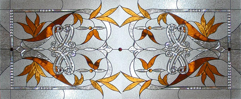 Beveled glass copy