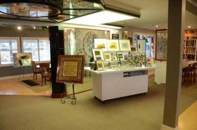 Sheri Law Stained Glass Showroom   Chicago, Illinois