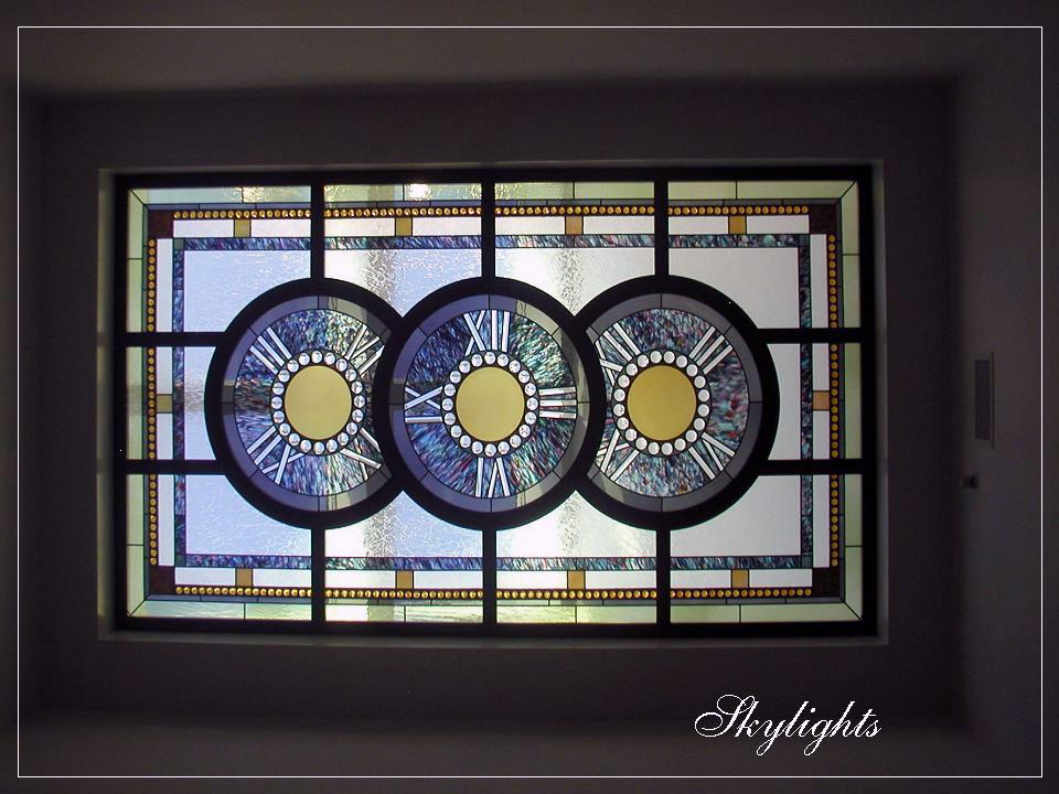 Custom Art Glass Stained Glass Skylights | Sheri Law Art Glass Homer Glen, IL